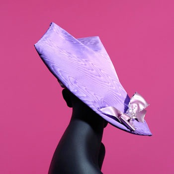 Stephen Jones hat photographed by Peter Ashworth