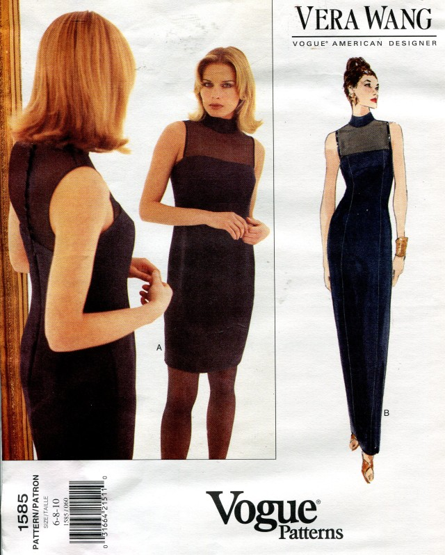 Vera Wang Vogue Patterns Patternvault