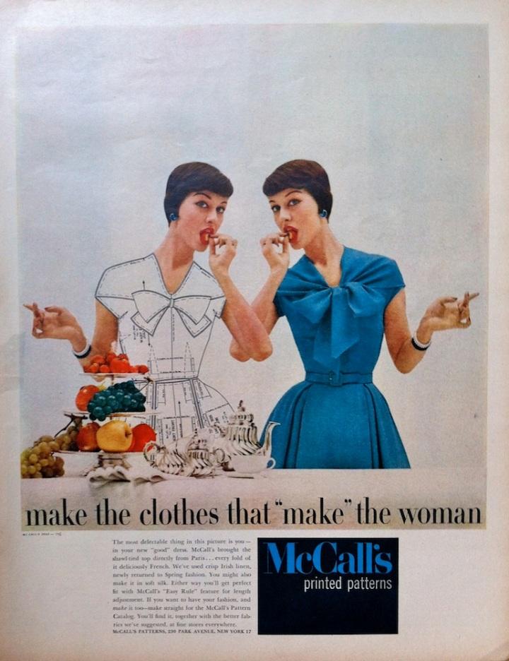 McCall's 3562 - McCall's advertisement advert 1956.