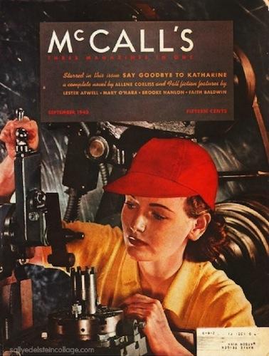 Rosie the Riveter on the cover of McCall's magazine, September 1942