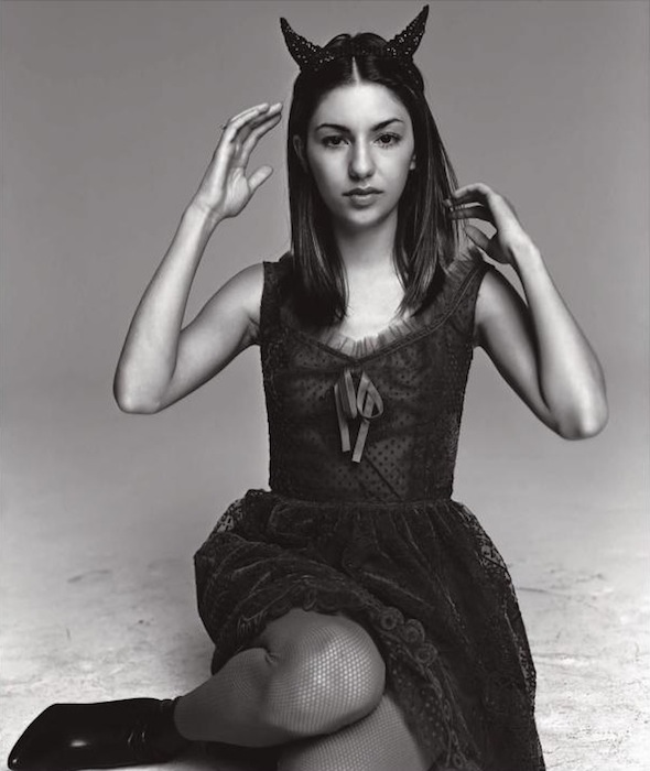 Sofia Coppola photographed by Satoshi Saikusa, Spur magazine, October 1997