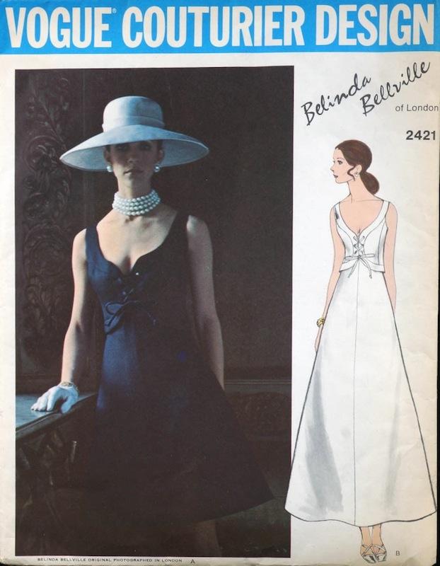 ca111bbadede 1970s Belinda Bellville pattern - Vogue 2421
