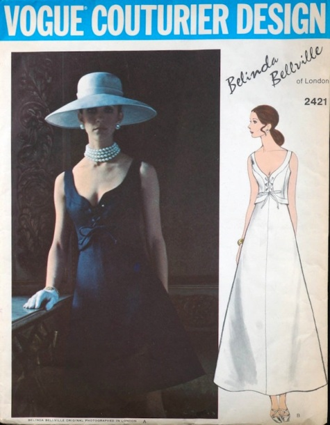 1970s Belinda Bellville pattern - Vogue 2421