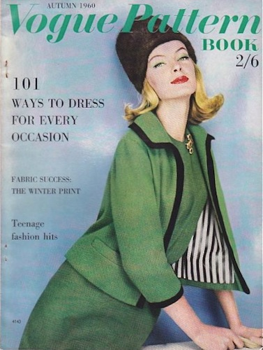 Autumn 1960 Vogue Pattern Book (UK edition)
