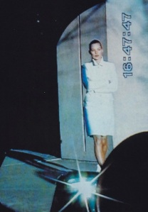 Nick Knight's surveillance editorial featuring Kate Moss, 1995