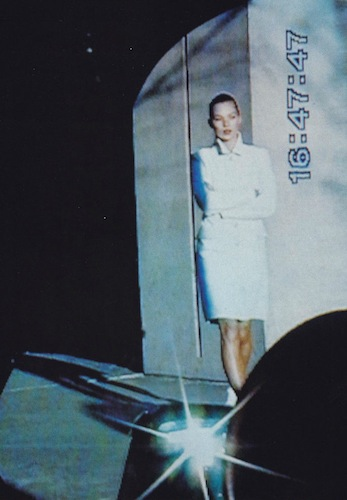 "Kate Moss in ""Courrèges Edge,"" 1995."