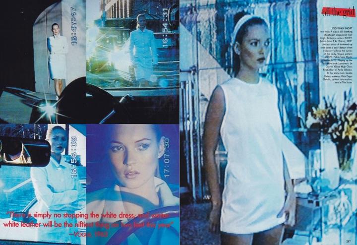 Vogue, August 1995. Photos: Nick Knight. Fashion Editor: Camilla Nickerson.