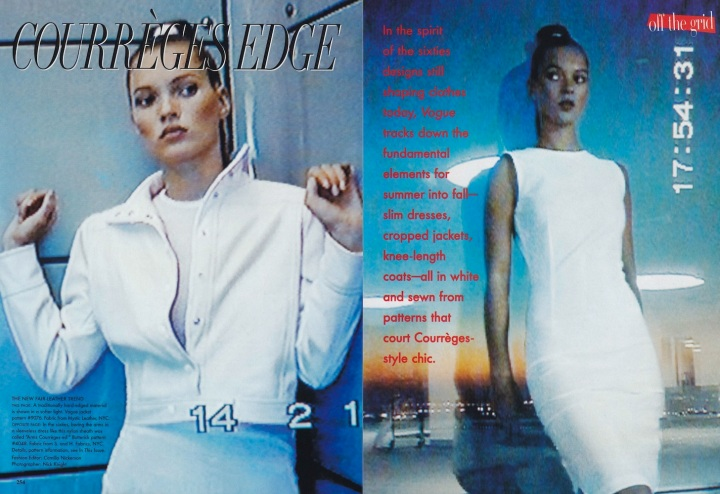 Vogue, August 1995. Photos: Nick Knight. Fashion Editor: Camilla Nickerson.