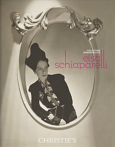 Schiaparelli Christies catalogue