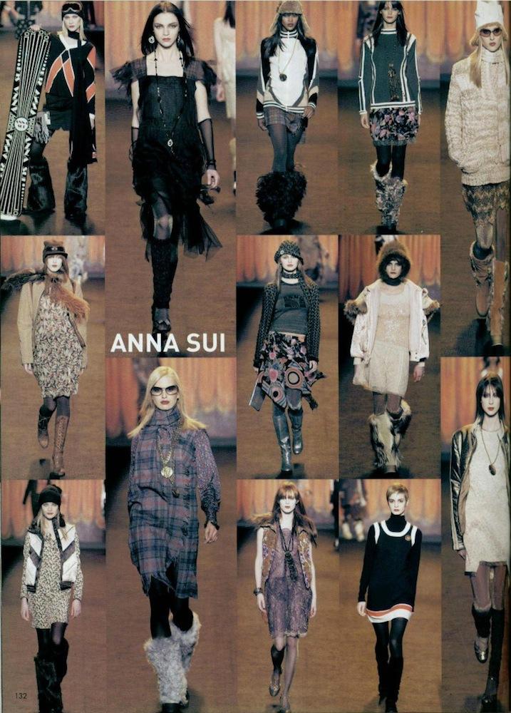 Anna Sui FW 2003-4