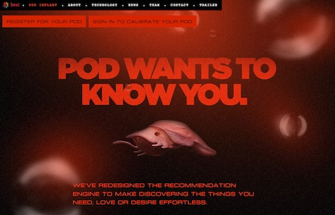 Pod Wants to Know You.