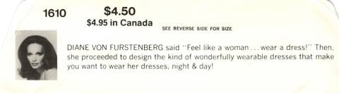 "DIANE VON FURSTENGERG said ""Feel like a woman ... wear a dress!"" Then, she proceeded to design the kind of wonderfully wearable dresses that make you want to wear her dresses, night & day!"