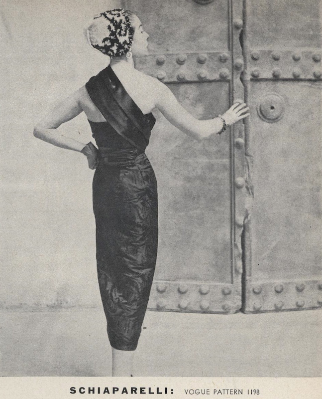 Bettina photographed by Frances McLaughlin in Vogue 1198, fall 1952