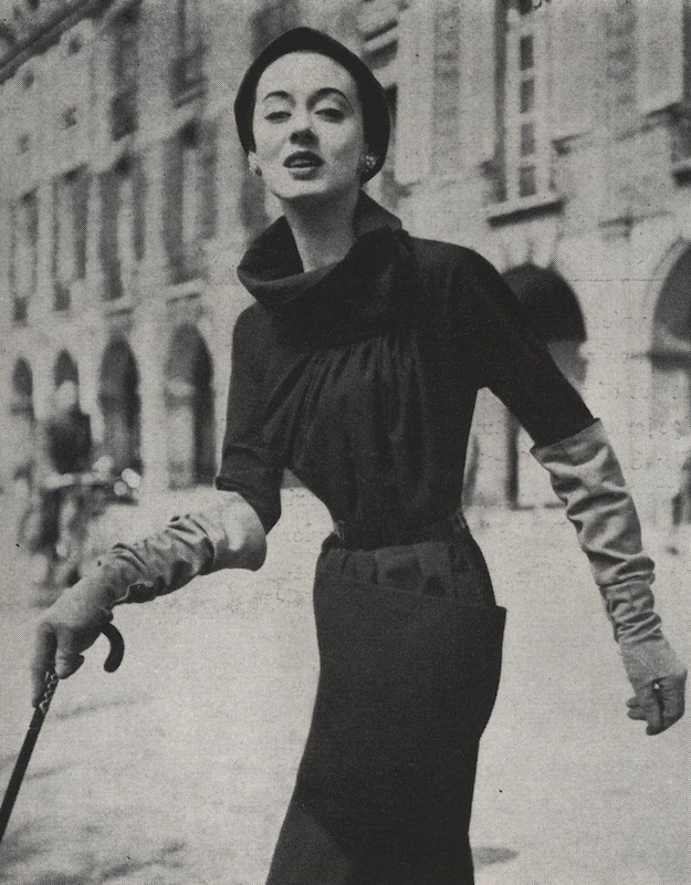 1950s Schiaparelli pattern Vogue 1231 summer 1953