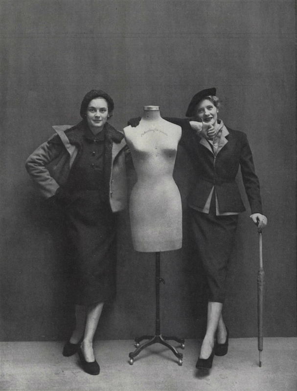 Vogue Paris Originals by Schiaparelli and Jacques Heim, fall 1949