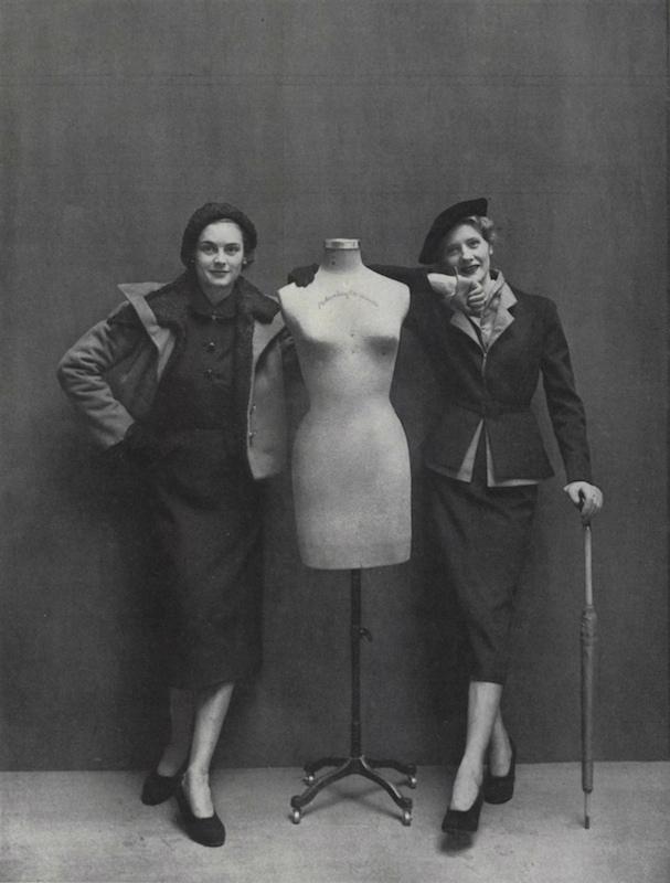Vogue Paris Originals by Schiaparelli and Jacques Heim, fall 1949