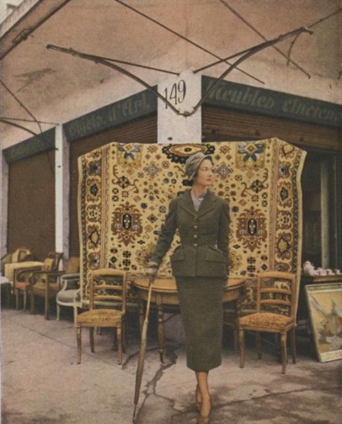 Vogue 1 Mar 1949 Schiaparelli