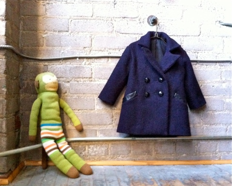 1930s child's coat front