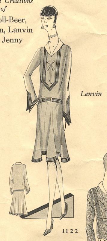 60s PatternVault Mesmerizing 1920s Dress Patterns