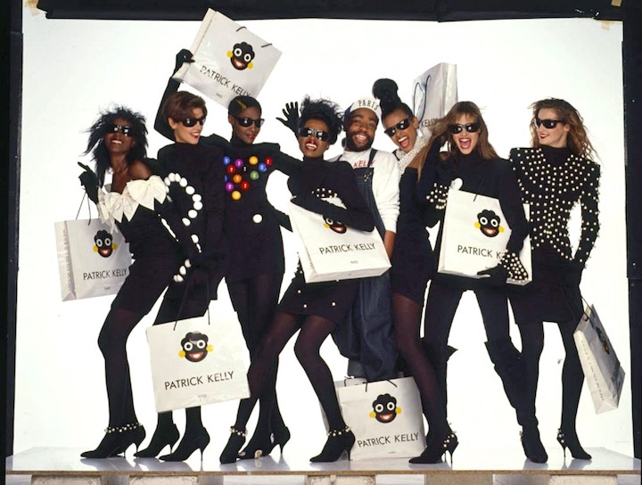 Patrick Kelly Fall 1988 collection. Photo: Oliviero Toscani