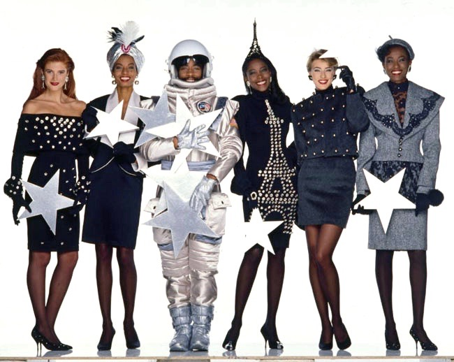 Patrick Kelly FW 1989 collection. Photo: Oliviero Toscani