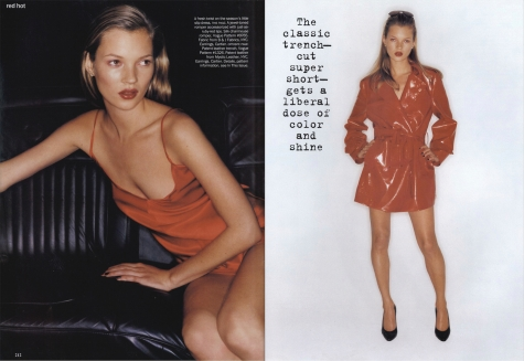 Kate Moss photographed by Juergen Teller - Vogue June 1994