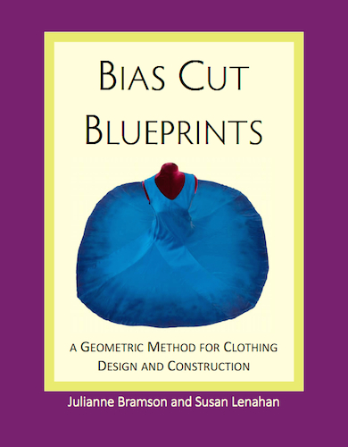 Cover image - Bias Cut Blueprints by Julianne Bramson and Susan Lenahan