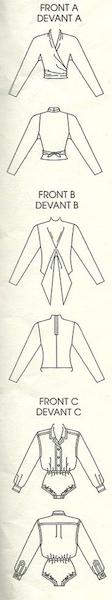 Vogue 1961 schematic. Image via eBay.
