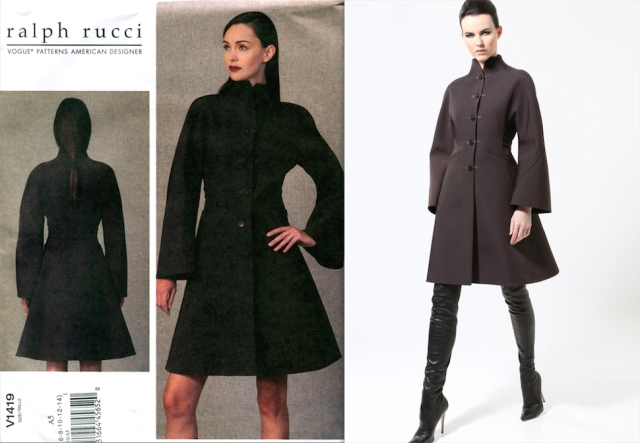 Vogue 1419 Ralph Rucci Pre-Fall 2013