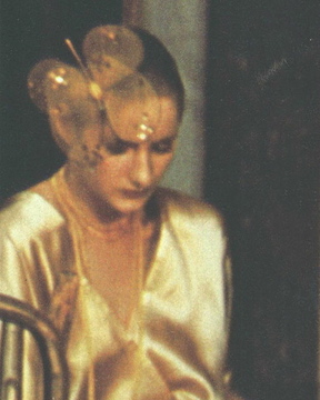 "Detail, ""Striking Gold"" photo by Deborah Turbeville, 1979"