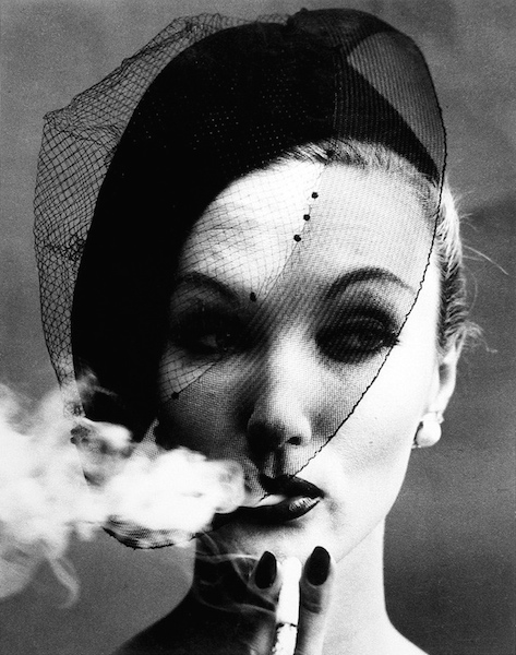 Evelyn Tripp William Klein Smoke + Veil 1958