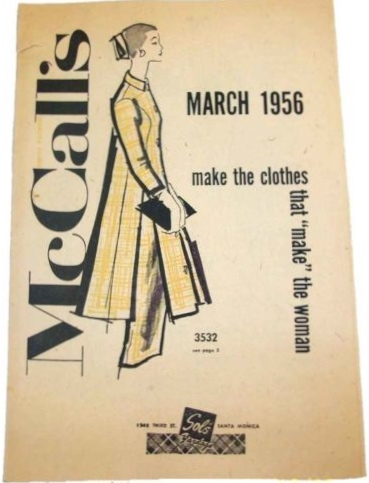 McCalls March 1956 3532