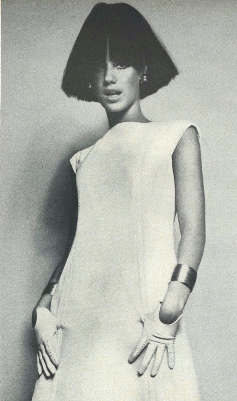 Marisa Berenson wears Vogue 6916