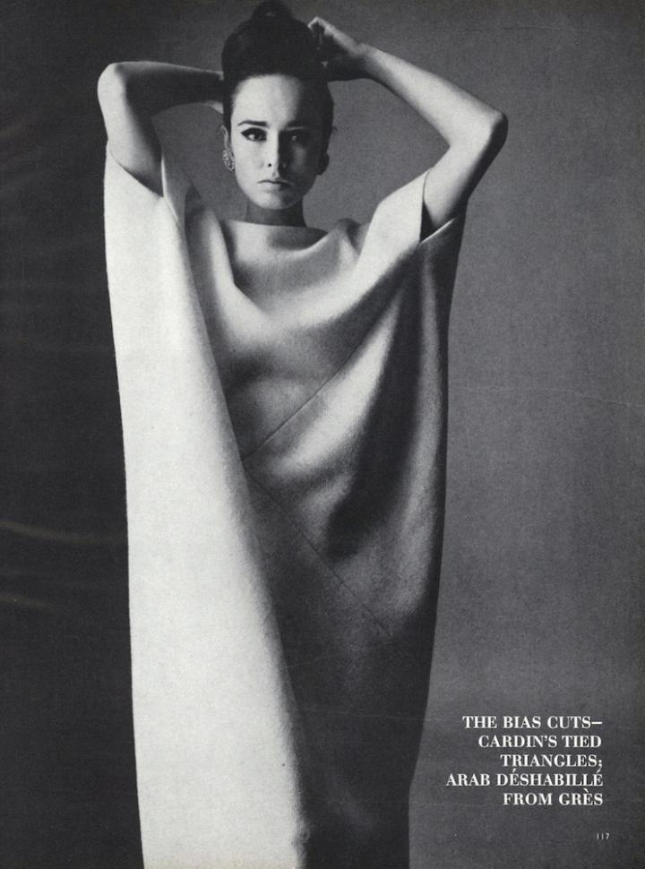 Grès caftan by Irving Penn for Vogue, Sept 1963