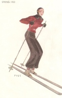 McCall Spring 1933 ski