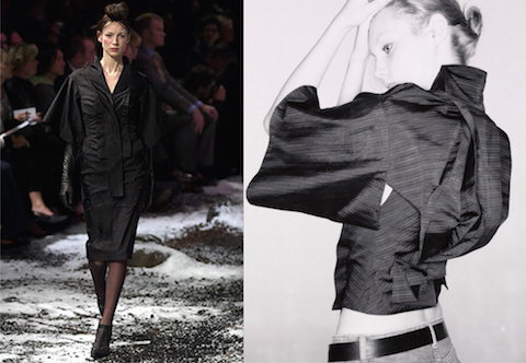 Caitriona Balfe / McQueen kimono jacket