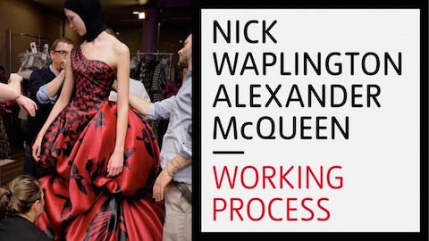 Nick Waplington/Alexander McQueen: Working Process at Tate Britain