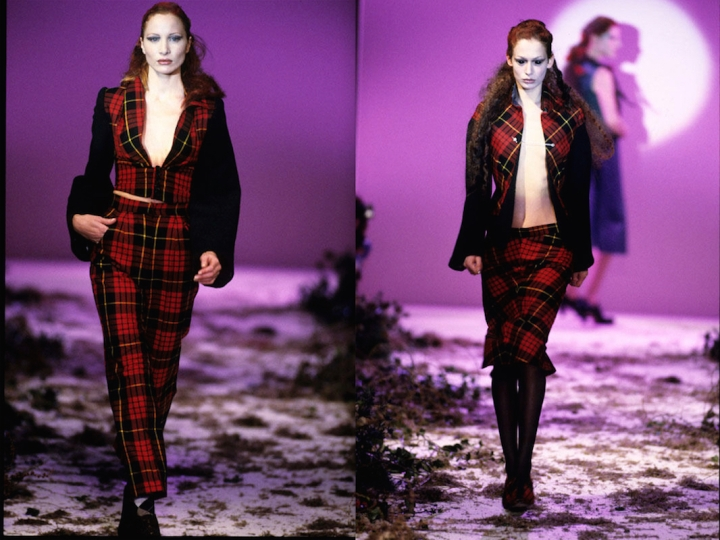 Highland Rape runway photos - Alexander McQueen FW 1995