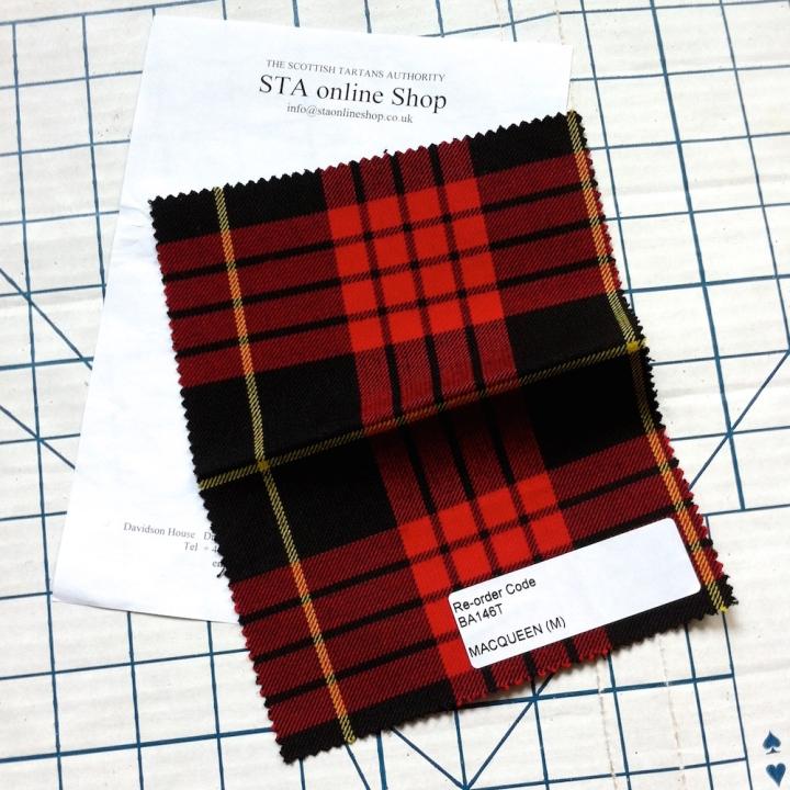 McQueen / MacQueen tartan swatch