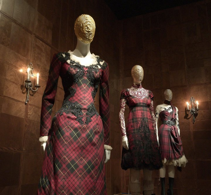 McQueen tartan dresses from Widows of Culloden (FW 2006)