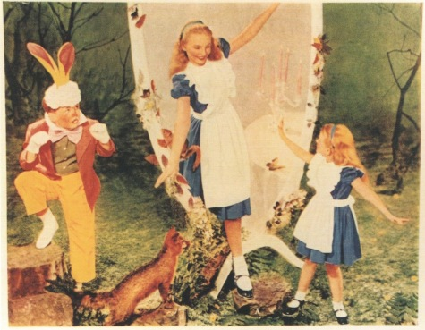 Alice in Wonderland costume patterns in McCall's Pattern Book, Fall 1951