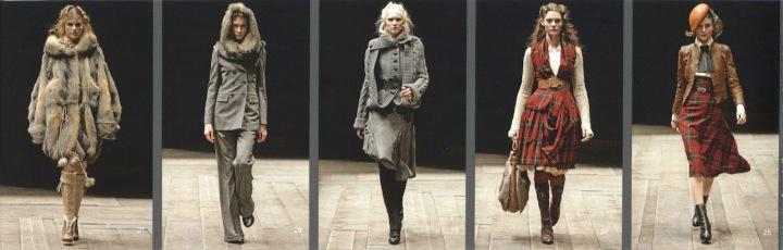 Widows of Culloden - Alexander McQueen runway lookbook FW 2006