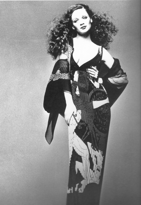 Gian Paolo Barbieri's photo of Ingmari Lamy in Yves Saint Laurent Rive Gauche, 1971