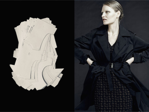 Kirsten Owen in the Lida Baday Fall 2011 ad campaign