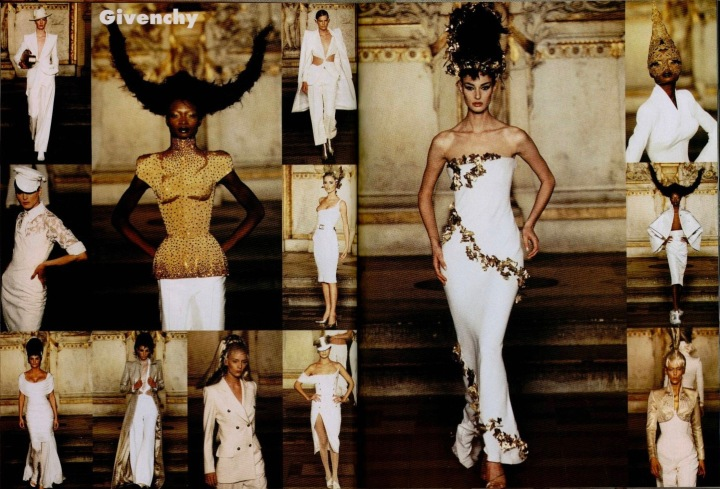 The Search for the Golden Fleece - Givenchy Spring 1997 couture by Alexander McQueen