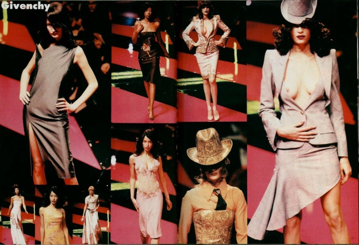 Givenchy Spring 1998 ready-to-wear by Alexander McQueen