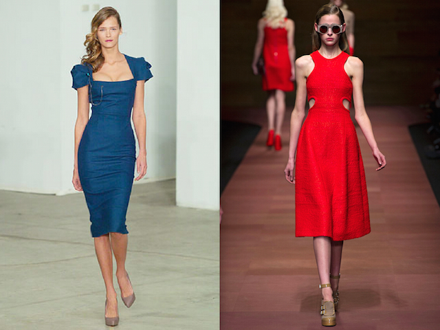 Roland Mouret and Carven