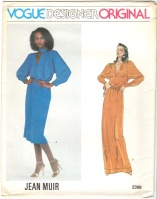 Iman in Vogue Designer Original 2399 by Jean Muir
