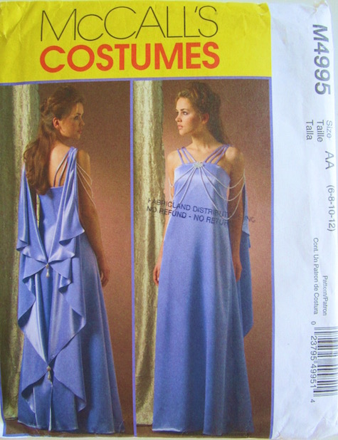 Padmé nightgown pattern - McCall's 4995