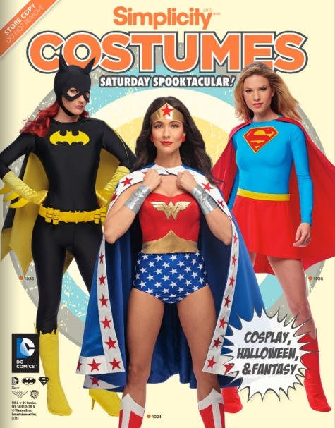 Saturday Spooktacular! Simplicity costumes for Halloween 2015